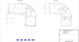 2D CAD Drawing Architectural plans New forest