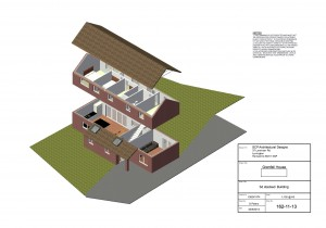 Grenfell House 2 Architectural plans Hampshire